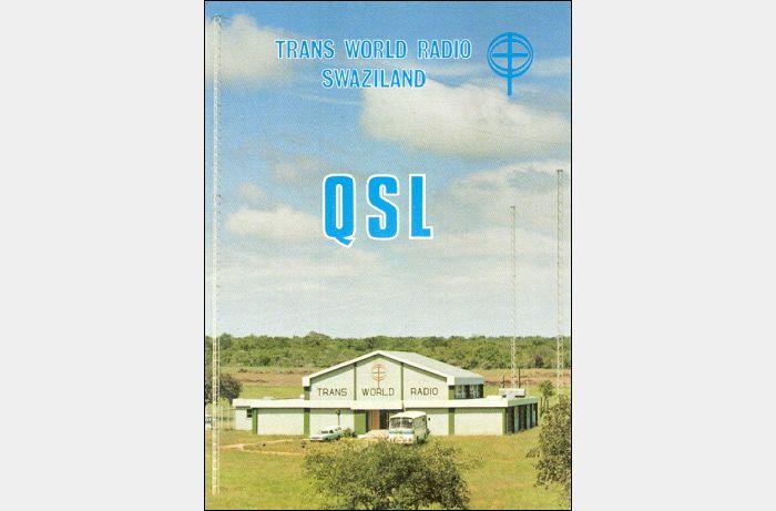 QSL Trans World Radio, Manzini